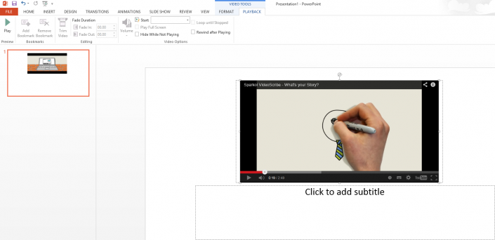 VideoScribe In Powerpoint