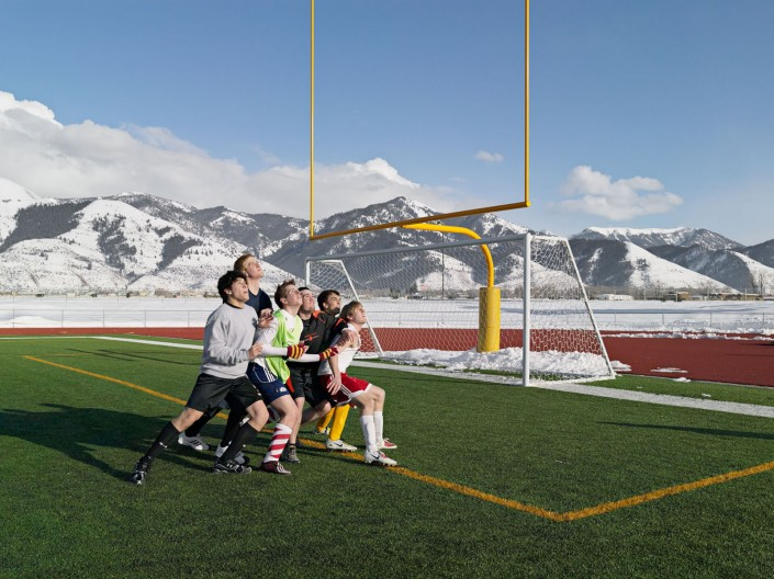 Soccer Practice, Star Valley Braves, Afton, Wyoming 2010