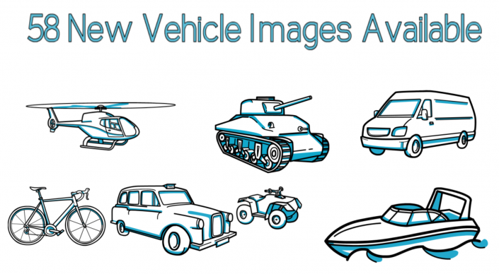 58 vehicles image