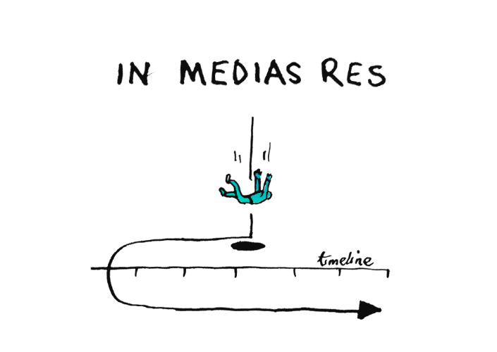 in medias res